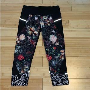 Floral Athleta leggings